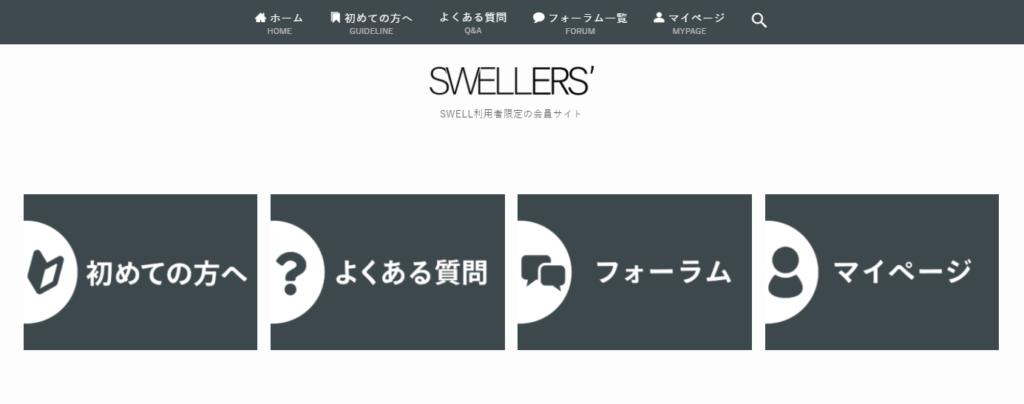 SWELL利用者のためのサポート情報